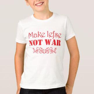 Haga Lefse, no camiseta escandinava divertida de