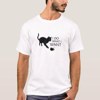 Haga lo que quiero el gato playera