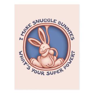 Haga los conejitos del Snuggle Postal