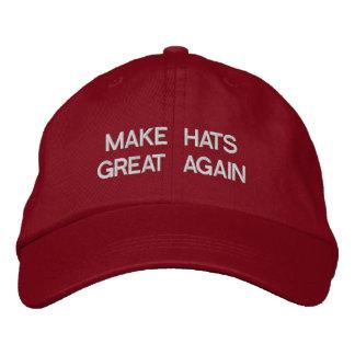 Haga los gorras grandes otra vez gorra de béisbol