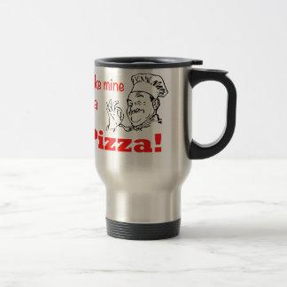 ¡Haga los míos una pizza Taza De Café