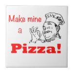 ¡Haga los míos una pizza! Tejas Ceramicas