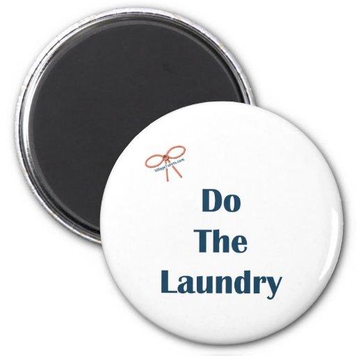 Haga los recordatorios del lavadero imán para frigorífico