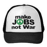 Haga los trabajos, no guerra gorra