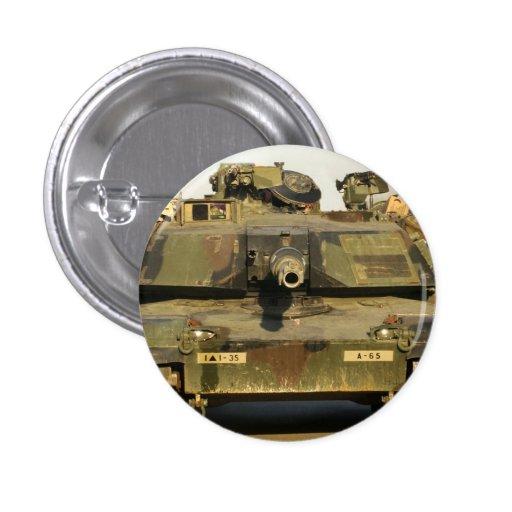 Haga mi día M1A1Abrams MBT Pin Redondo 2,5 Cm