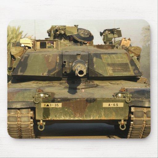 Haga mi día M1A1Abrams MBT Tapetes De Ratones