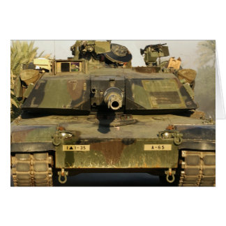 Haga mi día M1A1Abrams MBT Felicitación