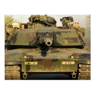 Haga mi día M1A1Abrams MBT Tarjetas Postales
