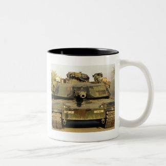 Haga mi día M1A1Abrams MBT Tazas De Café