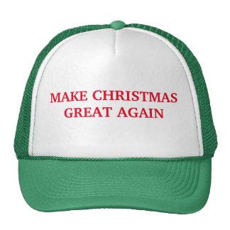Haga navidad el gran otra vez gorra