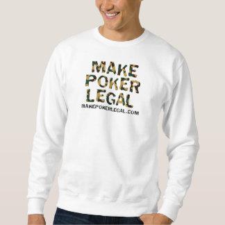 Haga póker la camiseta legal de Camo