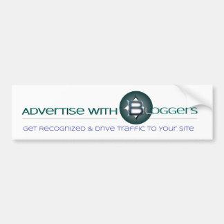 Haga publicidad con la pegatina para el parachoque pegatina para auto