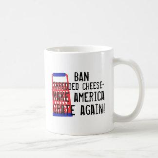 Haga que América ralla otra vez humor divertido Taza Clásica