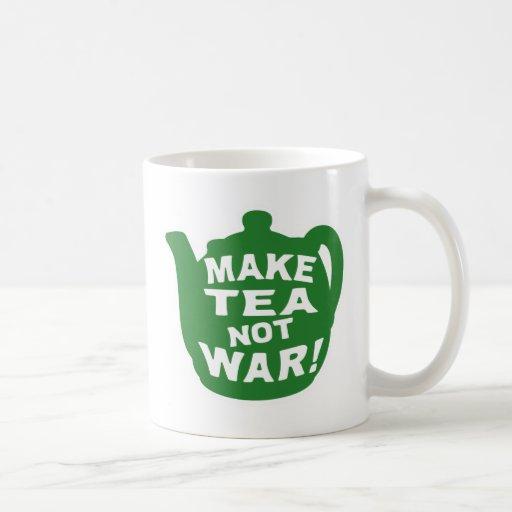 Haga que el té no guerrea v12 tazas de café