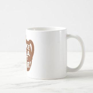 Haga que el té no guerrea v4 tazas