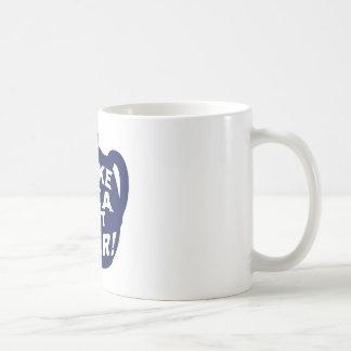 Haga que el té no guerrea v5 taza de café