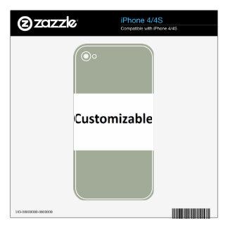 Haga que le el suyo tiene grandes regalos de la iPhone 4 skins