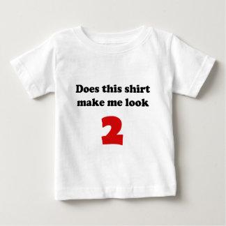 Haga que mira las 2 enredaderas y el camisetas del playera para bebé