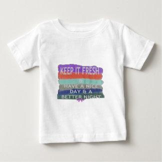 Haga que Niza un día y una mejor noche lo T-shirt