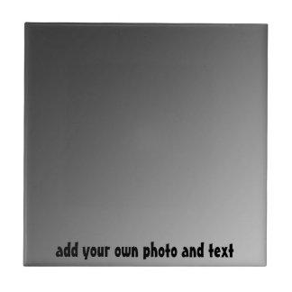 Haga que su propia foto de encargo tejan y la caja azulejo cuadrado pequeño