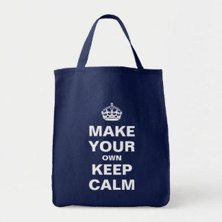 Haga que sus los propios guardan calma y continúan bolsas de mano