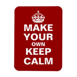 Haga que sus los propios guardan calma y continúan imán flexible
