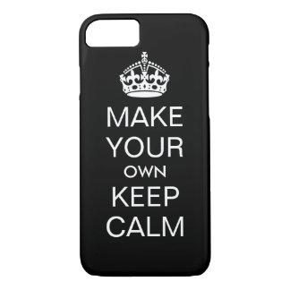 Haga que sus los propios guardan el caso tranquilo funda iPhone 7