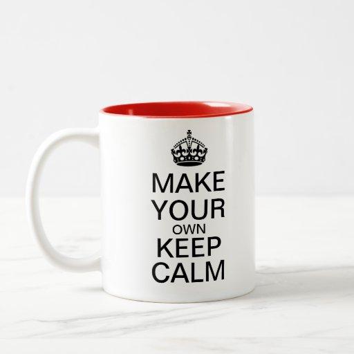 Haga que sus los propios guardan la taza tranquila