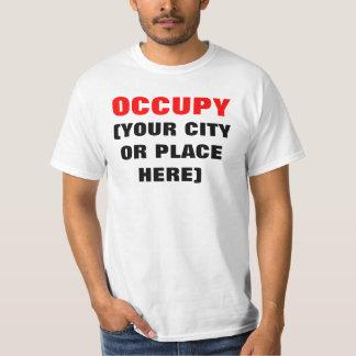 Haga que sus los propios ocupan la camisa