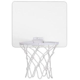 Haga que un mini aro de baloncesto suenan y el canasta mini