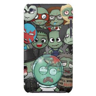 Haga que un zombi iPod toca 4G el caso #2 iPod Case-Mate Funda