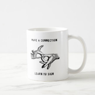 Haga que una conexión aprende firmar la taza