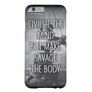 Haga salvaje el cuerpo - entrenamiento de funda barely there iPhone 6