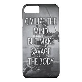 Haga salvaje el cuerpo - entrenamiento de funda iPhone 7
