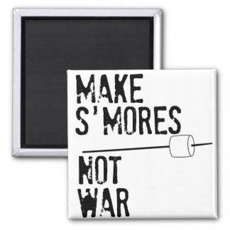 Haga S'mores, no guerra Imanes