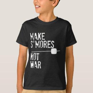 Haga S'mores, no guerra Playera