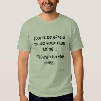 haga su cosa T Camisas