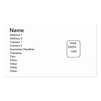 Haga su de tarjetas de una visita de la clase tarjetas de visita