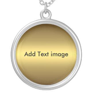 Haga su imagen del texto del collar