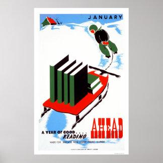 Haga su nieve de la lectura WPA 1938 Impresiones