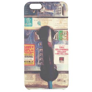 Haga su parecer del iPhone un viejo teléfono de Funda Clearly™ Deflector Para iPhone 6 Plus De Unc