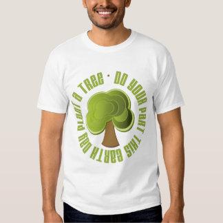 Haga su planta de la parte las camisetas y los playeras