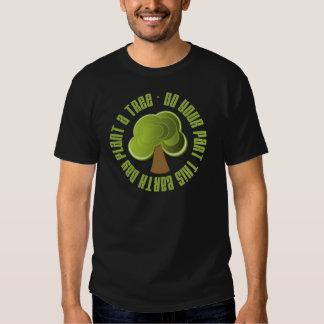 Haga su planta de la parte las camisetas y los polera
