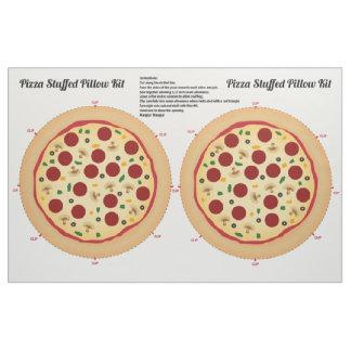 Haga su propia almohada rellena pizza telas