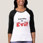 Haga su propia camiseta personalizada mal - lavade