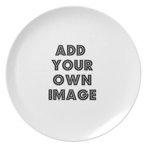 Haga su propia foto o placa del arte plato