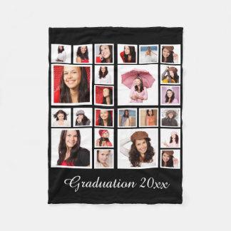 Haga su propia graduación personalizada manta de forro polar