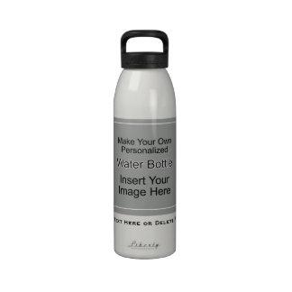 Haga su propia plantilla de la botella de agua