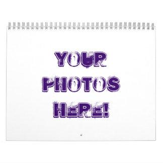 ¡Haga su propio ~ 2011 del calendario! Calendario De Pared