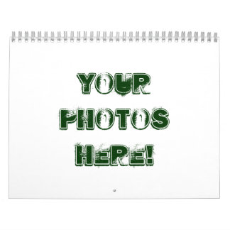 ¡Haga su propio ~ 2011 del calendario! Calendarios